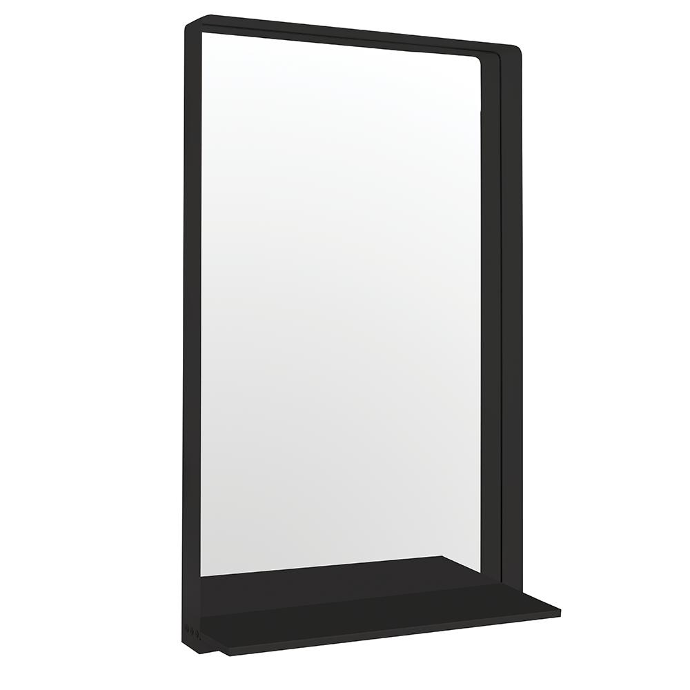 Sienna Black Salon Mirror Comfortel