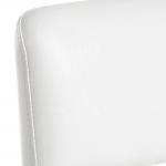 white-Backrest-stool
