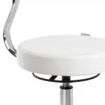 white-Seat-backrest-stool