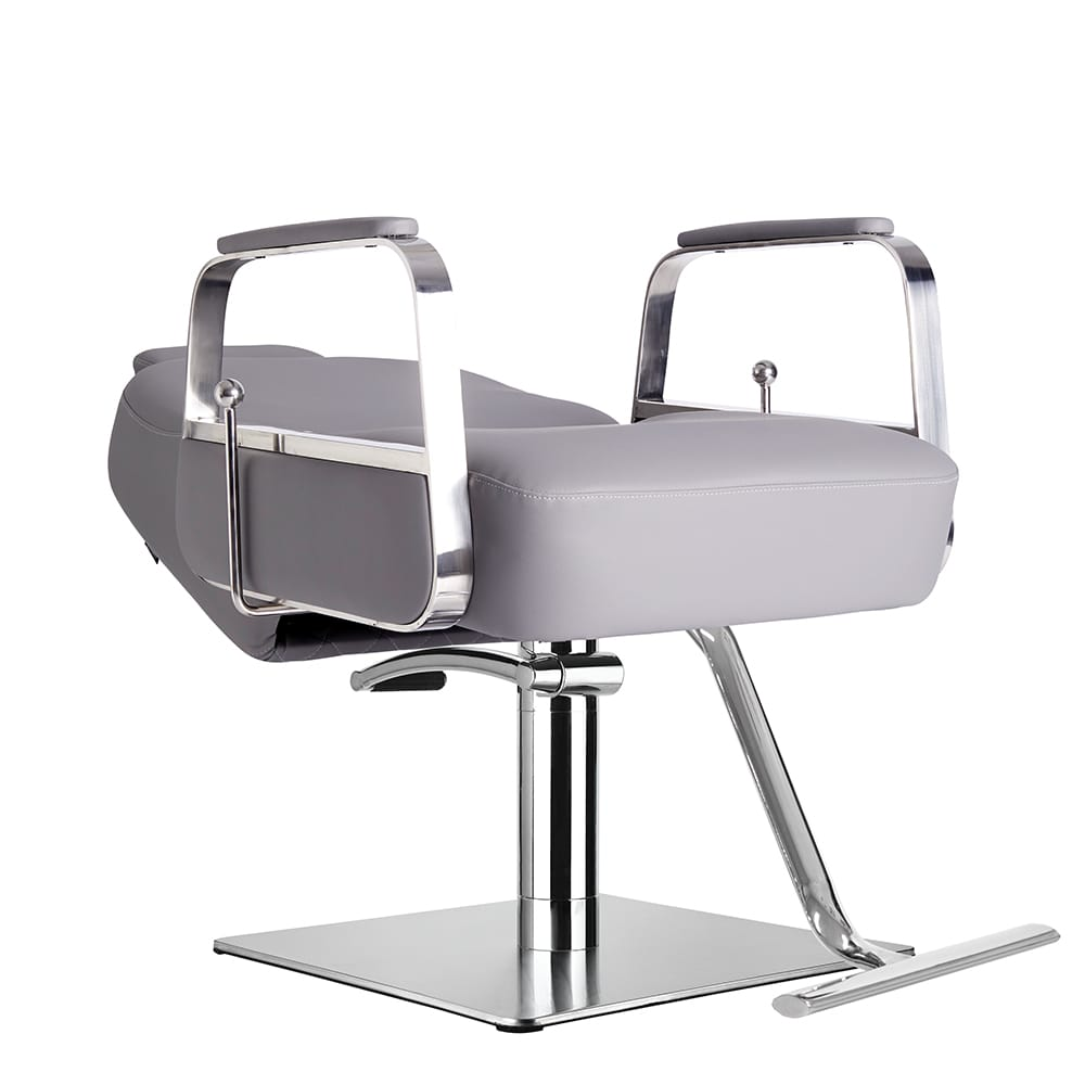 6218-Claudia Make Up Chair Grey Recline