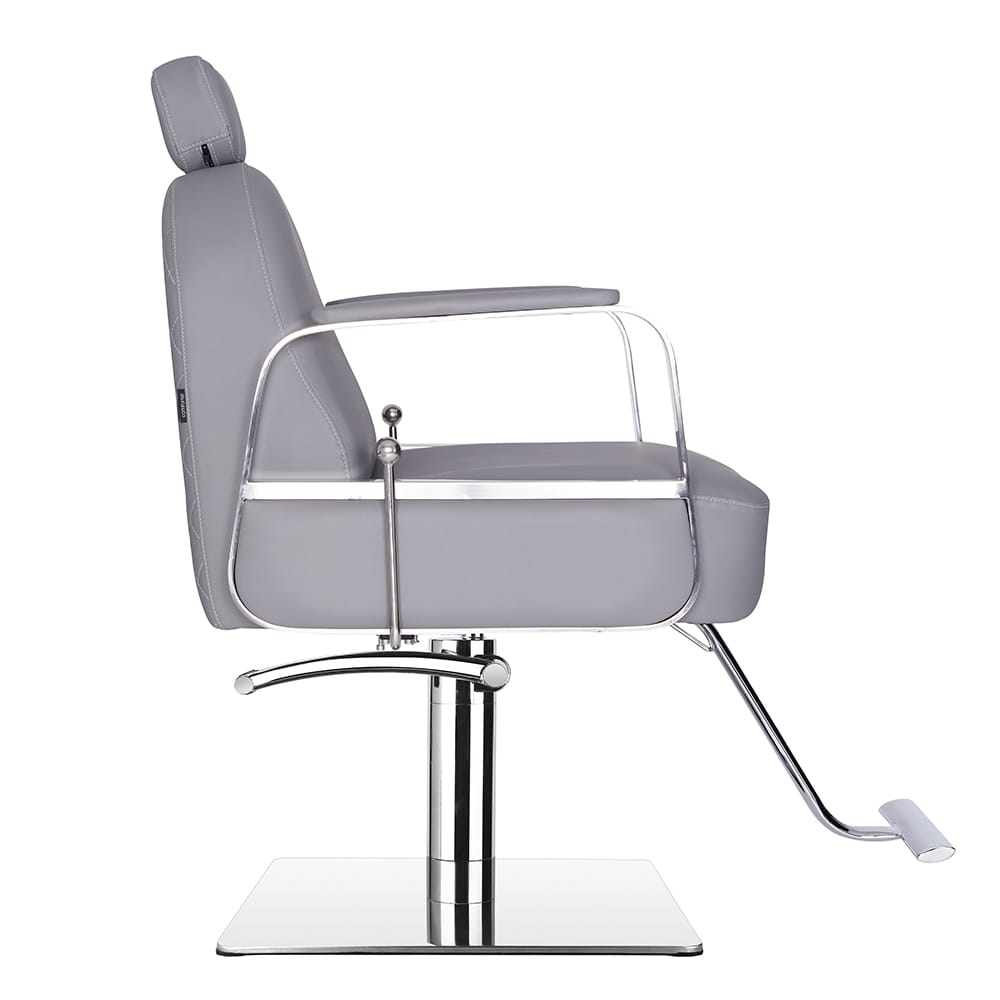 6218-Claudia Make Up Chair Grey Side