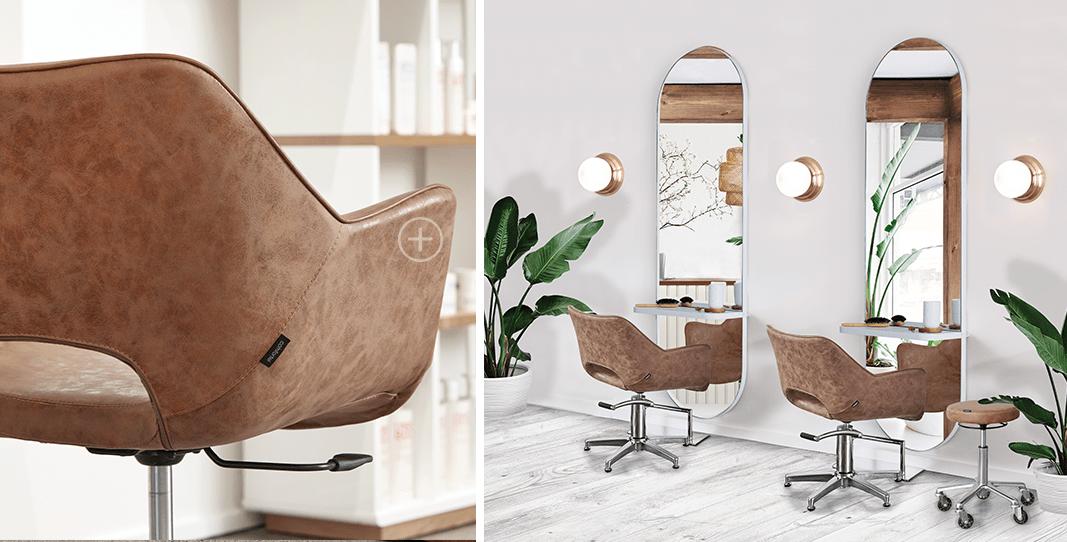 Salon Interior Design Inspo   Refined Boho Salon Furniture - Comfortel