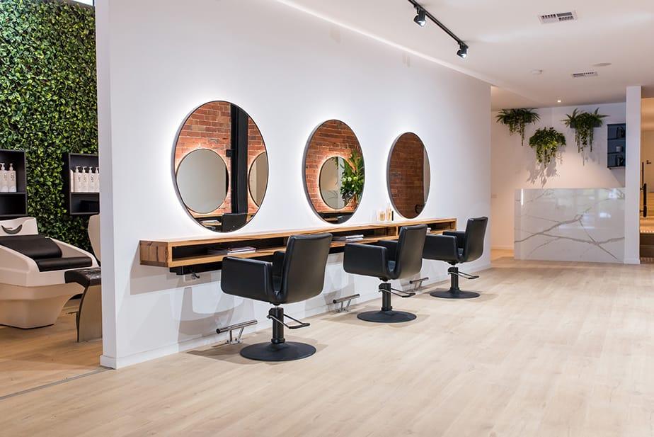 Salon Design - Embracing NY - Elliot Steele - Comfortel Salon Furniture