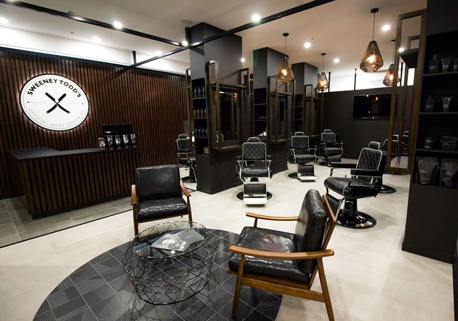 Barbershop Design Sweeny Todds Comfortel Salon Furniture