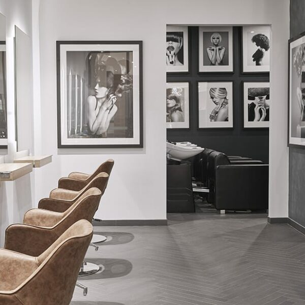 Lavish Hair + Beauty Bar. Celebrating Textures in Salon Design.