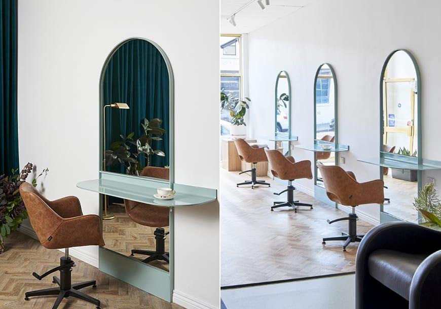 Salon Design - Pomp Hair - Comfortel Salon Furniture