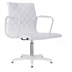 4380-Joey White Styling Chair