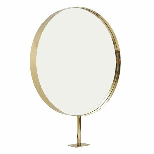 8720 Halo Round Brass Mirror 3