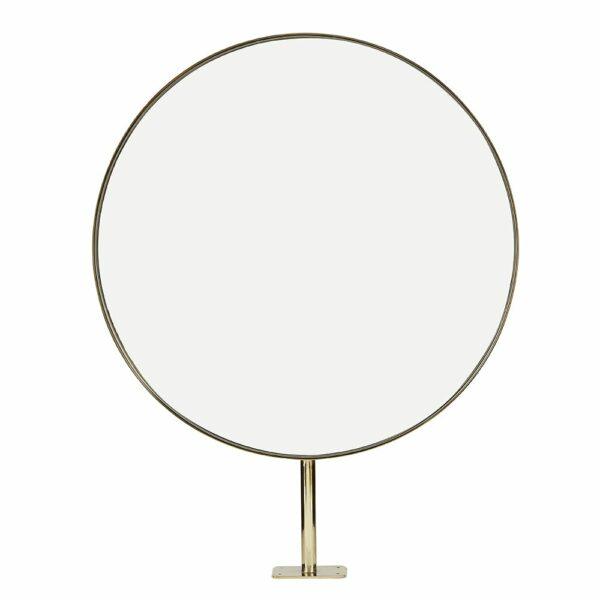 8750 Halo Round Brass Mirror 1