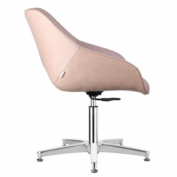 4109-B Rosie Blush Salon Chair Side