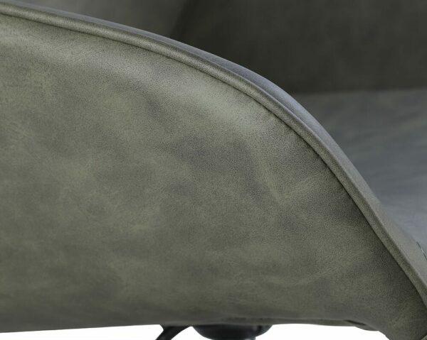 4109-SG Dawn Sage Green Salon Chair Detail 1