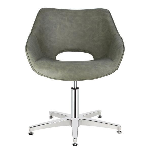 4109-SG Dawn Sage Green Salon Chair Front