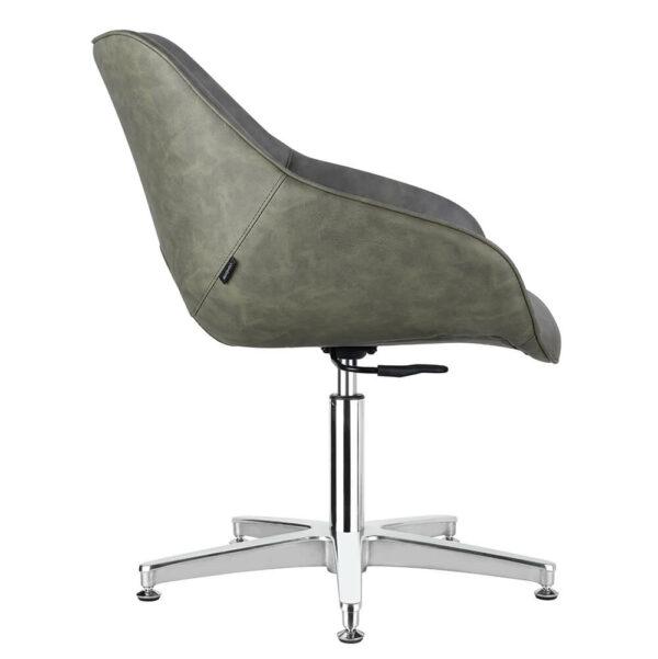 4109-SG Dawn Sage Green Salon Chair Side