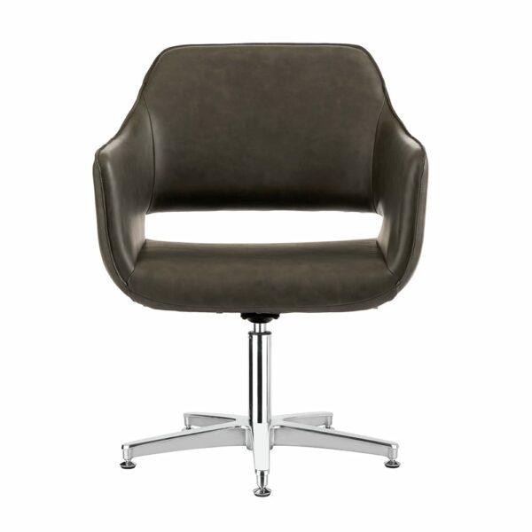 4115-TB Blake Textured Black Salon Chair 2