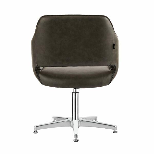 4115-TB Blake Textured Black Salon Chair Back