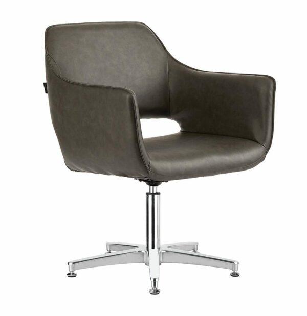 4115-TB Blake Textured Black Salon Chair