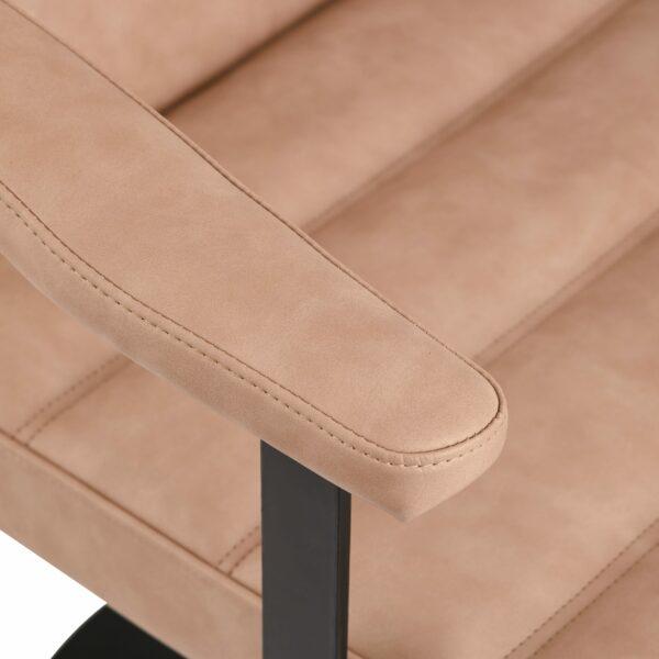 4152-B Franka Blush Salon Chair 8