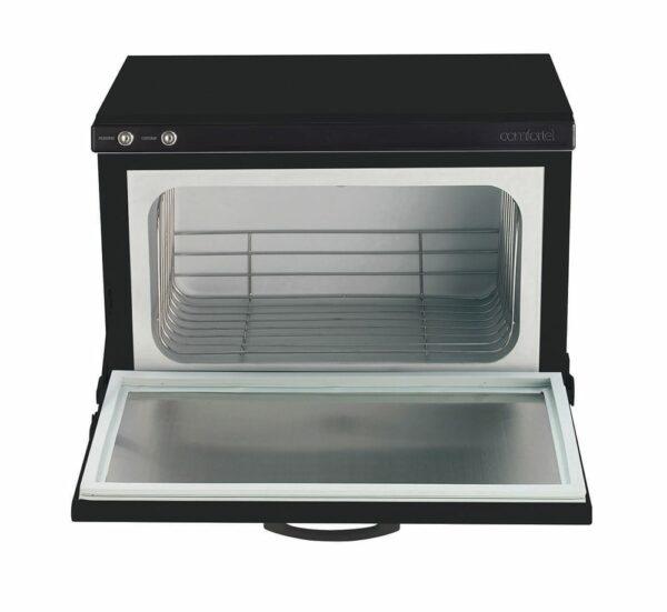 5356-Comfortel Hot-Towel-Cabinet-Black-open