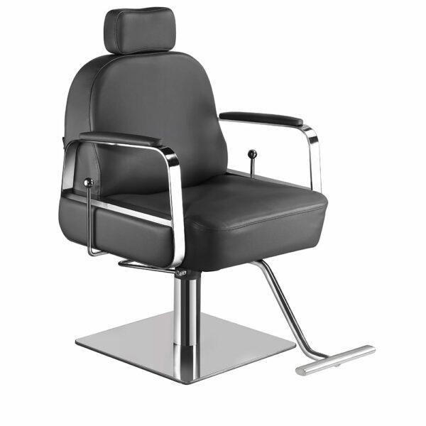6218-D Claudia Make Up Chair Dark Grey