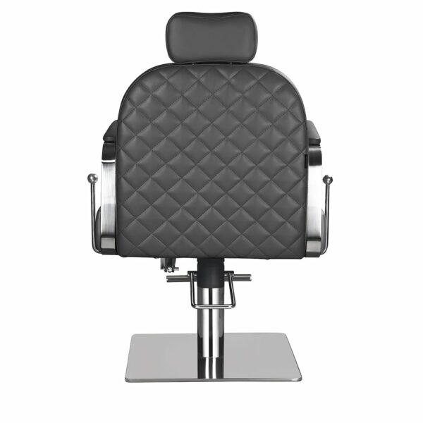 6218-D Claudia Make Up Chair Dark Grey Back